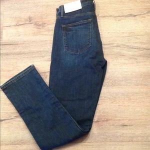 New tag loft women dark jeans modern straight 29 8